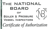 national board of boiler & pressure vessel inspectors